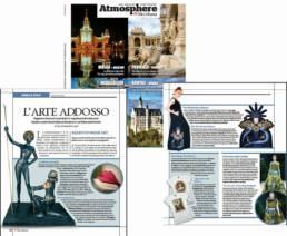 2017 - ATMOSPHERE MERIDIANA - Mario Costantino Triolo - L'ARTE ADDOSSO. Organze e broccati incorniciati in capolavori da indossare: moda e creatività artistica si fondono in un felice matrimonio.