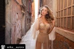 ERIKA AURORA - SOSUD DRESS DESIGNED BY MCT