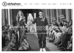 2019, Ob-Fashion - in un'intervista esclusiva Mario Costantino Triolo si racconta