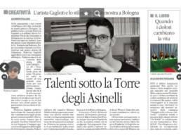 2015 - IL QUOTIDIANO DEL SUD - Mario Costantino Triolo, Talenti sotto la Torre degli Asinelli.