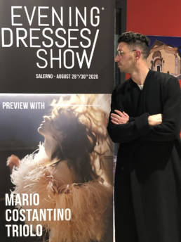 Preview with Mario Costantino Triolo _ Fashion Week 2020 con Davide Muccinelli e Giacomo Tanzarella