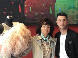 Mario Costantino Triolo con Maria Grazia Golfieri _ Fashion Week 2020