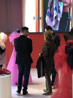 Mario Costantino Triolo con Raffaella Curiel _ Fashion Week 2020