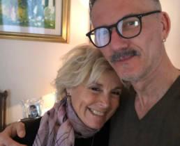 Michela Zio e Davide Muccinelli, con Mario Costantino Triolo