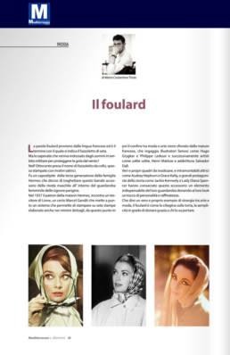 febbraio 2020, Mediterraneo e dintorni - Mario Costantino Triolo - Il foulard
