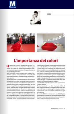 marzo 2020, Mediterraneo e dintorni - Mario Costantino Triolo - L'importanza dei colori