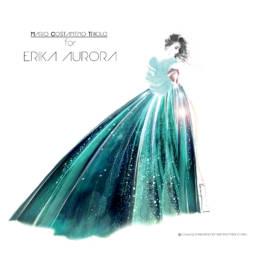 Erika Aurora red carpet 2020 MARIO COSTANTINO TRIOLO