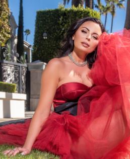 Emelina Adams in GRACE by MCT • Shooting in LOS ANGELES