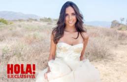 Natalia Boneta in Mario Costantino Triolo Alta Moda • Shooting in HOLLYWOOD