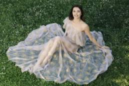 Marina Crialesi in Mario Costantino Triolo Alta Moda • Shooting in ITALY