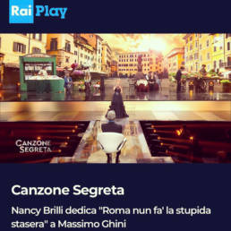 RaiPlay - Canzone Segreta - Nancy Brilli indossa un abito di Mario Costantino Triolo