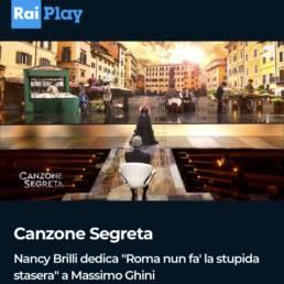2021, Canzone Segreta - RaiPlay