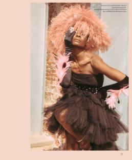 Model @guetcha | @basic_magazine | Stylist @amontes4659 | Dress by @mariocostantinotriolo @casa_di_moda_mct