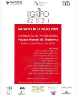 Mario Costantino Triolo Premio GRIFO 2021