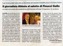 Mario Costantino Triolo al Salotto di Patrizia Finucci Gallo