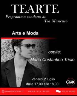 Mario Costantino Triolo ai microfoni di RADIO CIAK