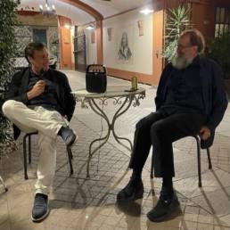 """La """"Salottiera"""" veste l'alta moda di Mario Costantino Triolo_ Ospite l'Architetto Michele De Lucchi"""